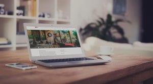 Professionelle Website